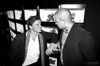 BIG-Founder Bjarke Ingels with HWKN co-Founder Matthias Hollwich