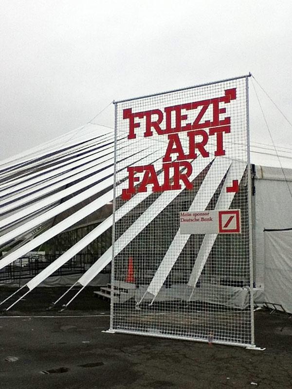 Frieze Tent